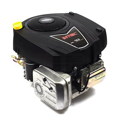 Briggs & Stratton 33R877-0003-G1 540cc 19 Gross HP Intek Vertical OHV Engine with 1-Inch Diameter by 3-5/32-Inch Length Crankshaft Tapped 7/16-20-Inch (19 Hp Briggs And Stratton)