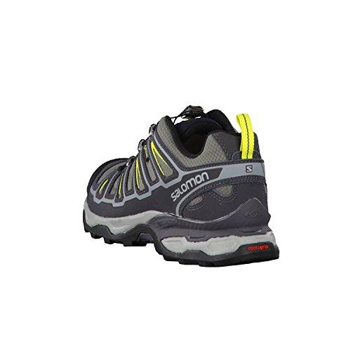 Ultra GTX Lime Basses de Chaussures 2 Salomon Punch Randonnée Shade Quiet Black X Homme 5qSw0aw7t