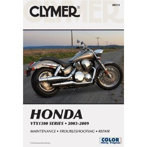 CLYMER REPAIR/SERVICE MANUAL HONDA VTX1300 03-09