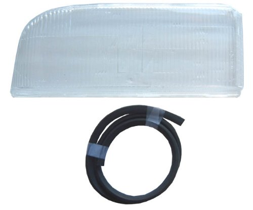 Headlight Lens Only Volvo 850 Left Side Dual Bulb System Plastic Replacement HLPV408 Volvo Headlight Lens