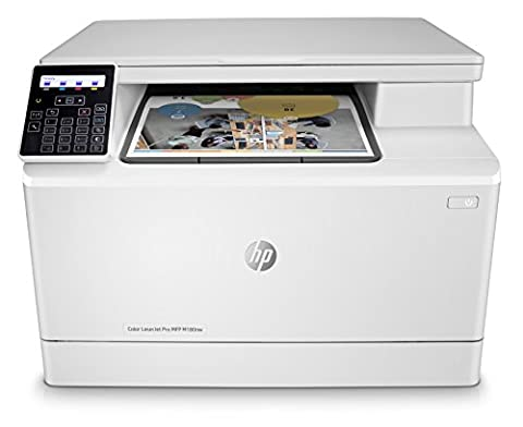 HP LaserJet Pro M180nw All in One Wireless Color Laser Printer (Laser Wifi Printer Scanner)