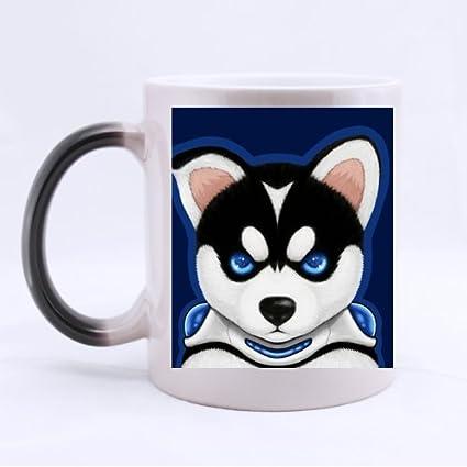 Amazon Com Cute Cool Funny Face Siberian Husky Pet Dog Puppy