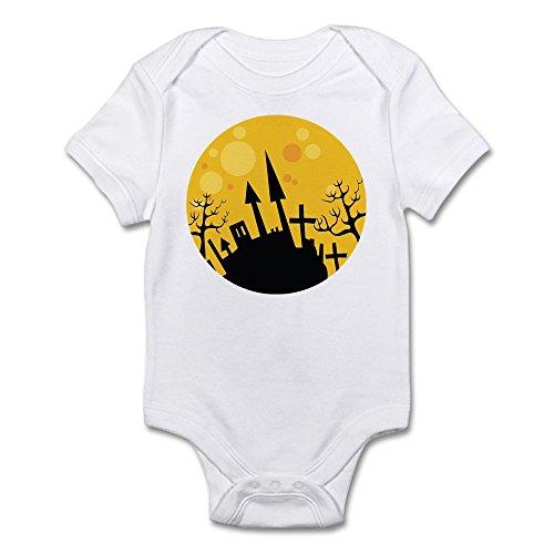 CafePress - Halloween Scene Infant Bodysuit - Cute Infant Bodysuit Baby Romper