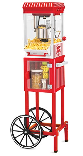 Nostalgia KPM200CART 45-Inch Tall Vintage Collection 2.5-Ounce 10-Cup Kettle Popcorn (Best Genesis Home Theater Systems)