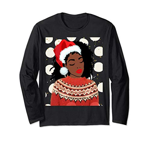 WOMEN'S CUTE HOLIDAY FESTIVAL SNOW DAY PARTY T-SHIRT - Shirt Ugly T Americans