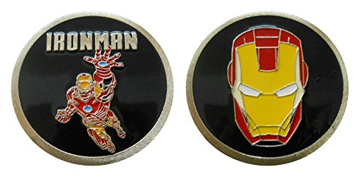 Ironman - Character Collectible Challenge Coin / Logo Poker / Lucky - R Sunglasses Logo