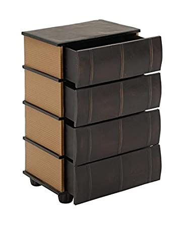 Lovely Deco 79 Table Top Drawers As Smooth Leather Books