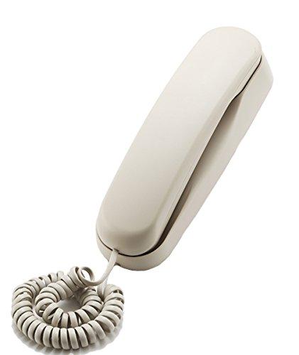 KerLiTar K-037 Slim-line Corded Phone Wall Mountable Landline Telephone Waterproof and Moisture-proof for Office Home Hotel Bathroom(Beige) by KerLiTar