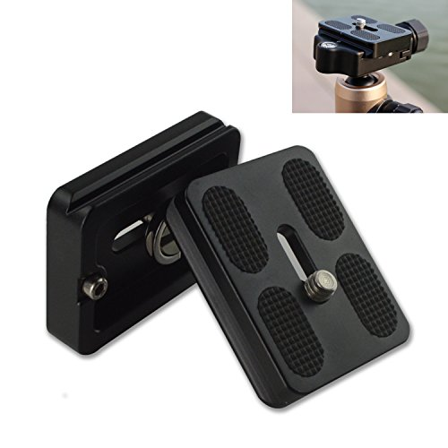 YOEMELY Quick Release Plate with 1/4 Inch Screw Tripod Mount