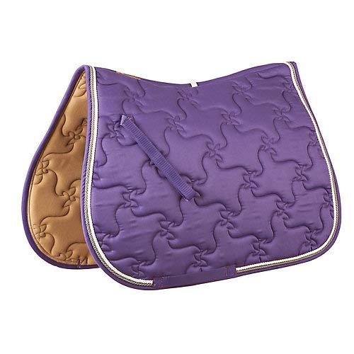 (Roma Ecole Vogue All Purpose Saddle Pad Purple )