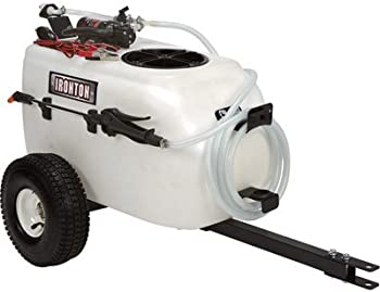 Ironton Tow-Behind Trailer Broadcast and Spot Sprayer 13-Gallon