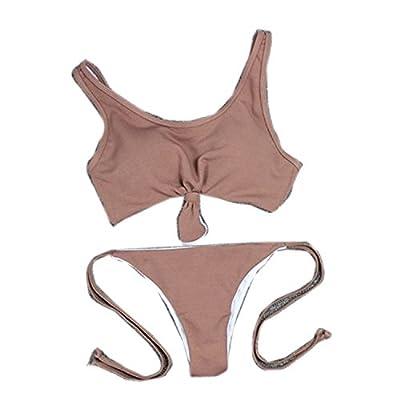 Enkangyua Women Swimsuit Nylon Vests Bikini Swimwear