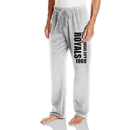 Price comparison product image DVPHQ Men's Kansas City KC Logo Royal Sweatpants Ash Size M