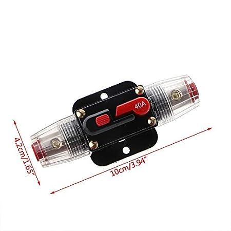 1pc conversione Audio per Auto One out One Interruttore Automatico Fusibile -100 YoungerY