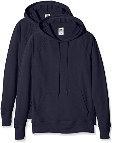 Fruit Sweat Lightweight Navy dark Blu Hooded Loom Donna Of The Felpa Ladies WSwSqa6BZ1