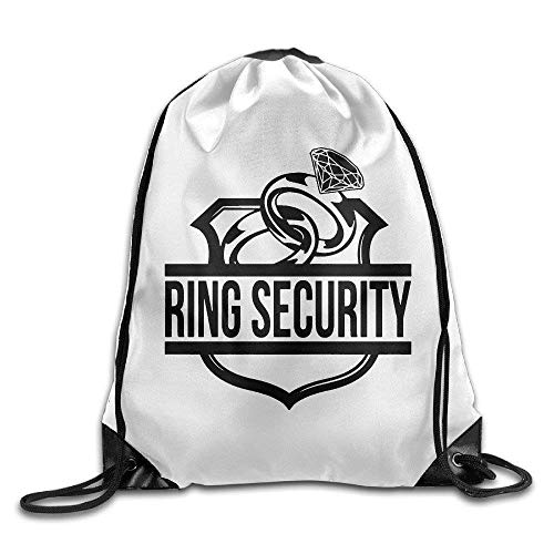 Ashley Lauren Mia Ring Security Beam Mouth Backpack Eco-Friendly Drawstring Backpack Customize Fashion,Easy To Carry,Light