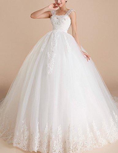 Lactraum Umstandsbrautkleid Organza Hochzeitskleid mit Strassstein  Pailletten Schnürung u. Schleppe HS0382 (Maßenfertigung): Amazon.de:  Bekleidung