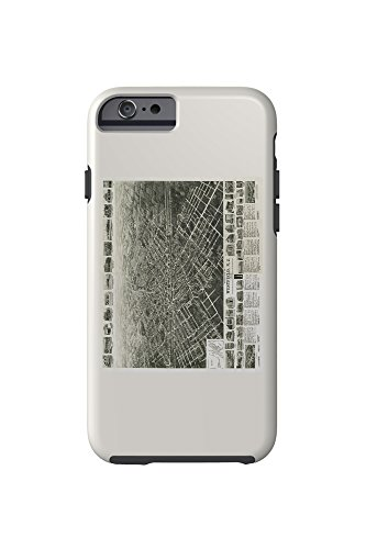 westfield-new-jersey-panoramic-map-iphone-6-cell-phone-case-tough