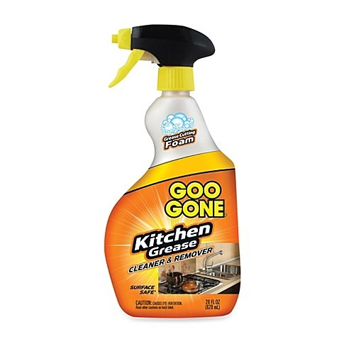 Goo Gone Kitchen Grease Cleaner & Remover 28-Ounce Spray Bottle (Kitchen Grease)