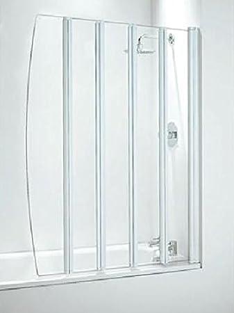 Coram showers sfd5cuw 1400 mm, lunghezza 1060 mm, 5 pannello ...