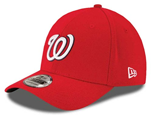 - MLB Washington Nationals Team Classic Game 39Thirty Stretch Fit Cap, Red, Medium/Large