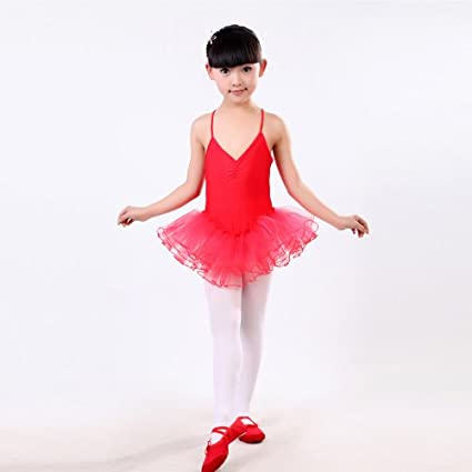 GIRLS FAIRY TUTU LEOTARD DANCE BALLET COSTUME PARTY LEOTARD 3 TO 9 YEARS LEOTARD PINK, HOT PINK, GREEN, RED, WHITE, YELLOW, BLUE