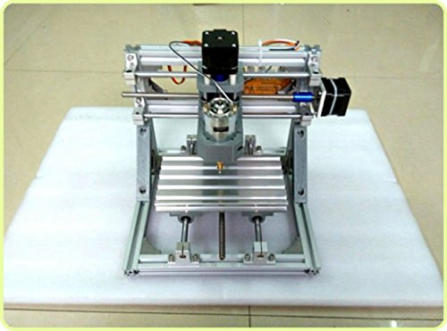 CNC Router Wood Carving , TOPCHANCES DIY Mini 3 Axis Wood Carving Engraving Machine Effective Working Travel PCB Milling Engraving Machine Kit