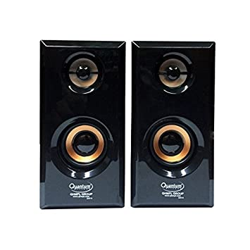 Quantum QHM630 Multimedia Speakers  Black  PC Speakers