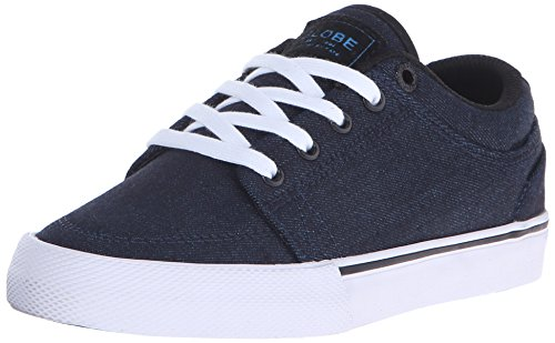 Globe Kids GS Skateboarding Shoe (Little Kid/Big Kid), Blue/Black, 6 M US Big Kid (Shoes Globe Womens)