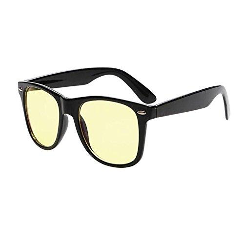 Meijunter Vintage/Rétro Ordinateur Des lunettes Anti UV Lumière bleue Filtre Lentille claire Goggle Lunettes Hommes/Femmes