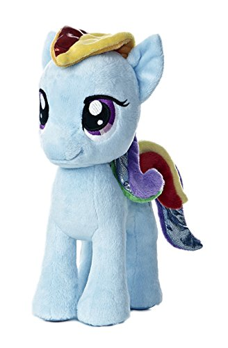 Aurora World My Little Pony Rainbow Dash Pony Plush, 10