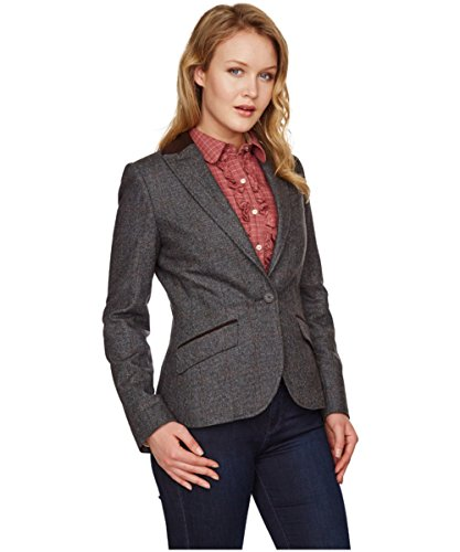 Barbour Quilted Vest - Barbour Cavalry Women's Quilted Vest - Rosewood (8)