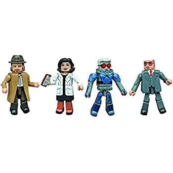 Dc gotham-rise of the villains série 3 minimates set diamond select