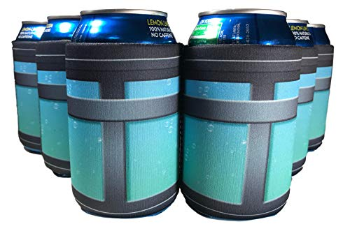 Twiddler Toys 12 Pack Chug Jug Can Cooler Sleeves – Fortnite Party Favor Supplies Gamer Birthday Decorations