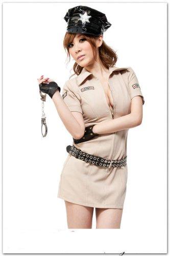 Amazon.com: Disfraz de policía mujer policía del ejército ...