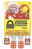 Master Lock Compact Lockout Center, Includes 1 Aluminum Padlock