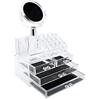 Makeup Organizer with 4 Drawers