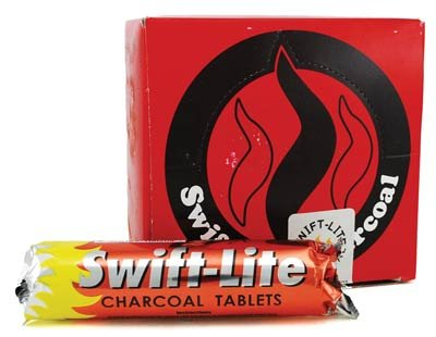 33mm Charcoal Box of 10 Rolls of 8 Swift Lite