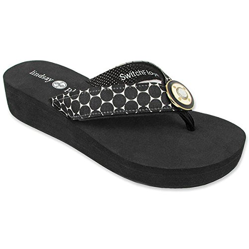 lindsay-phillips-taylor-wedge-flip-flop-black-size-8