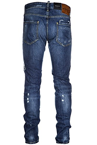 Dsquared2 Herren Jeans denim cool guy jean blu