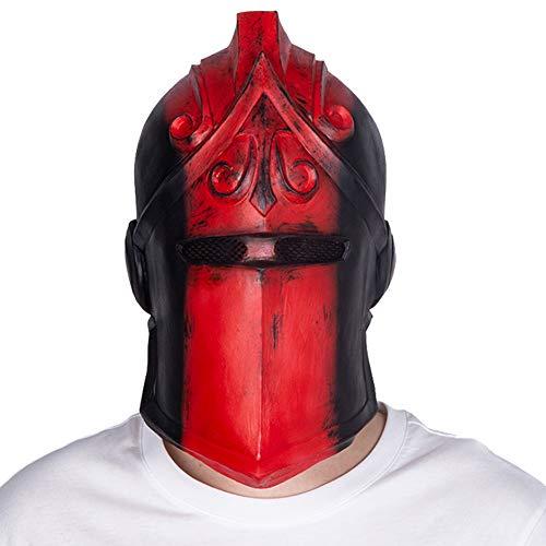 フォートナイト Fortnite コスプレ グッズ ラテックスマスク レッドナイト マスク 騎士 かぶりもの パーティー コスプレ道具 仮装 小物 仮面