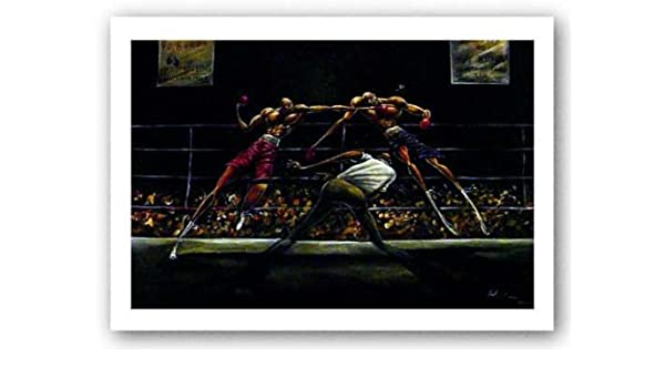 Amazon.com: Stick and Move by Frank Morrison - 24 x 34 ...
