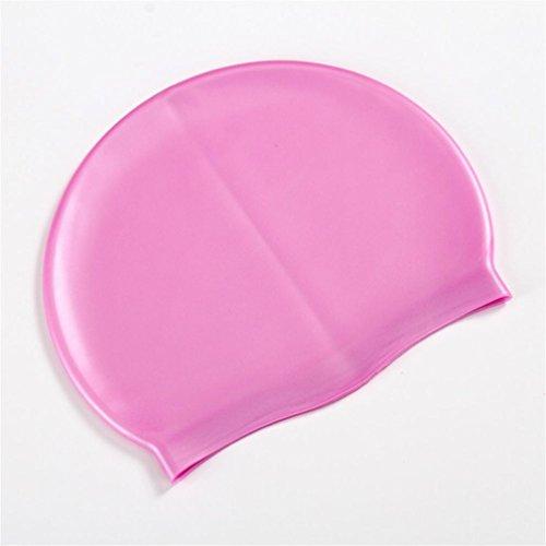 WFFO Adult Swimming Swim Cap Comfortable Hat Waterproof Swimwear Accessories Hats - Ironman Cap Swim