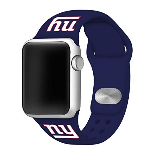 - Game Time New York Giants Silicone Sport Band Compatible with Apple Watch - Band ONLY (42mm/44mm)