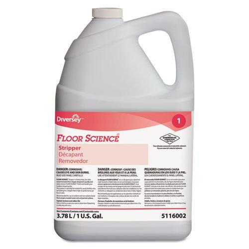 Floor Science Floor Science Floor Stripper, Neutral, Liquid, 1 gal., Bottle - four bottles per case. (Floor Science Floor Stripper)