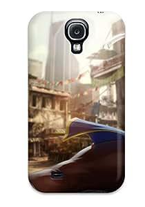 Hot Tpye Street Fighter Chun Li Case Cover For Galaxy S4
