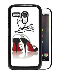 Christian Louboutin 8 Black Recommended Customized Design Motorola Moto G Case