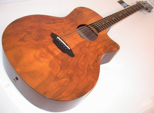 Luna GYPSPALT Gypsy Spalt Spruce Top Grand Auditorium Acoust