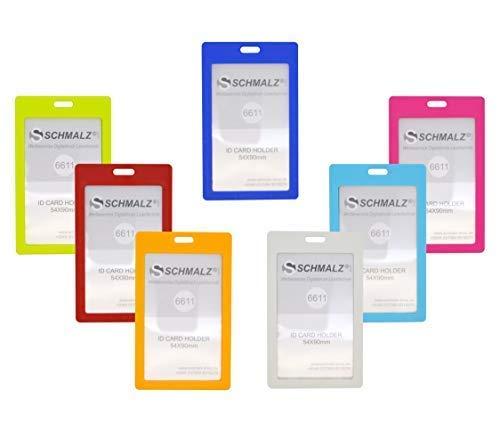 Schmalz® 10 Uds. Funda de Identificación Tulla Soporte de Tarjeta ...