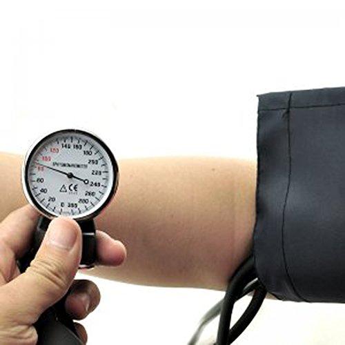 FINLON aneroide profesional de medición de tensión arterial muñeca monitor presión arterial y estetoscopio de precisión Manual Cuff con bolsa de transporte: ...